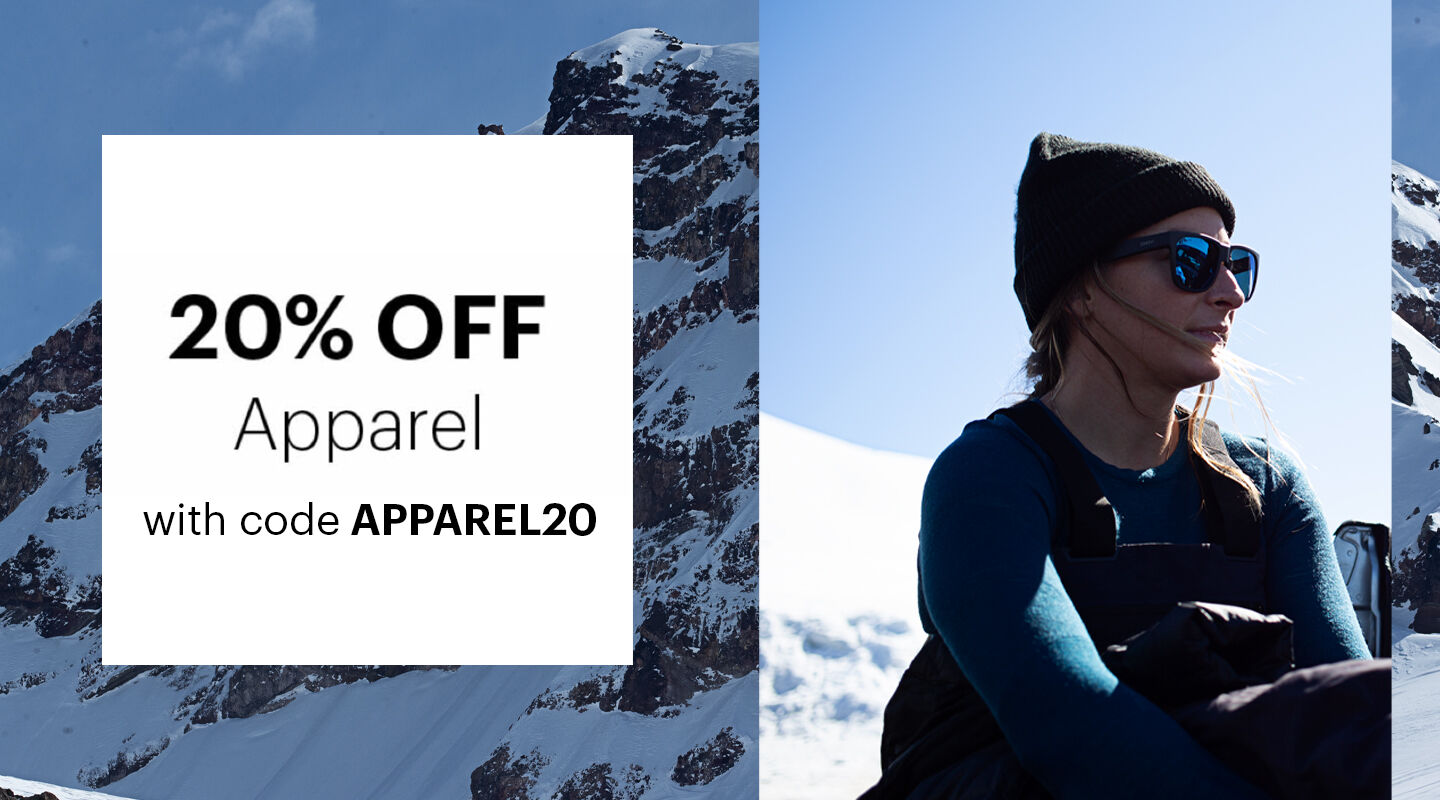 20% OFF Apparel with code APPAREL20