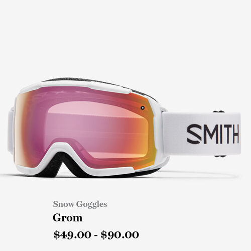 Snow Goggles - Grom - $49.00 - $90.00