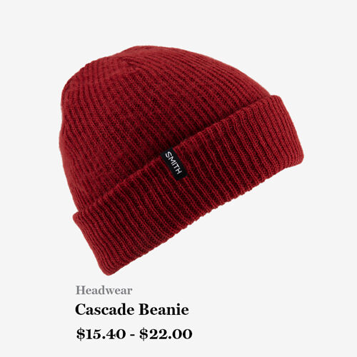 Headwear - Cascade Beanie - $15.40 - $22.00