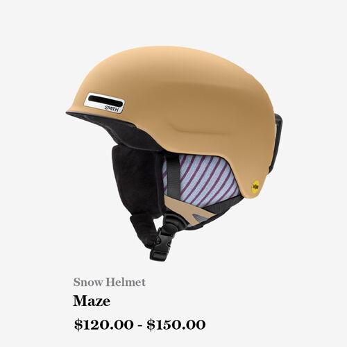 Snow Helmet - Maze - $120.00 - $150.00