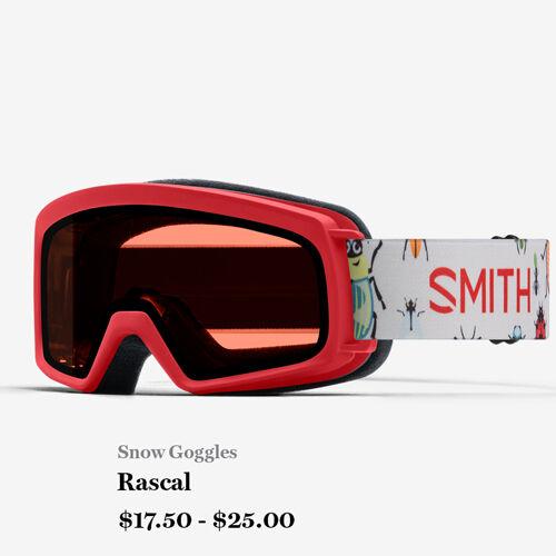 Snow Goggles - Rascal - $17.50 - $25.00