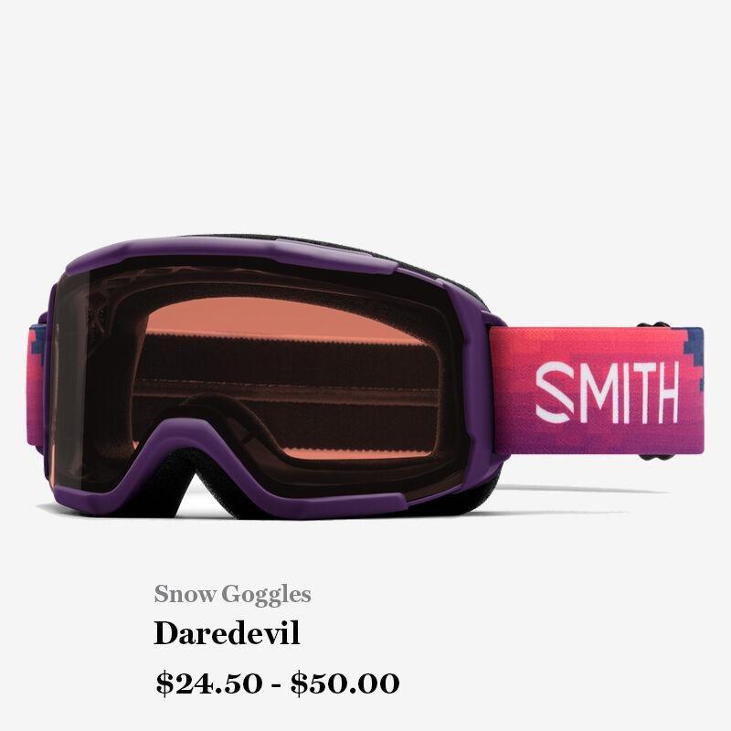 Snow Goggles - Daredevil - $24.50 - $50.00