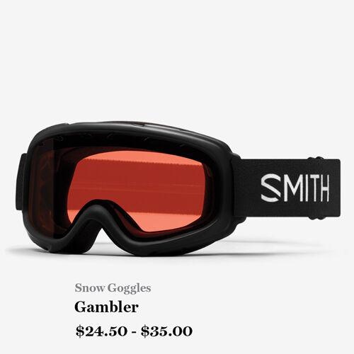 Snow Goggles - Gambler - $24.50 - $35.00