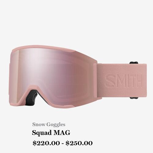 Snow Goggles, Squad MAG, $220 - $250