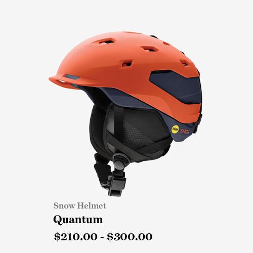 Snow Helmet - Quantum - $210 - $300