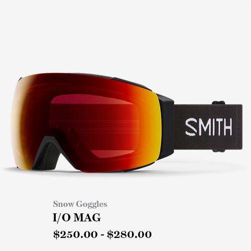 Snow Goggles, I/O MAG, $250 - $280