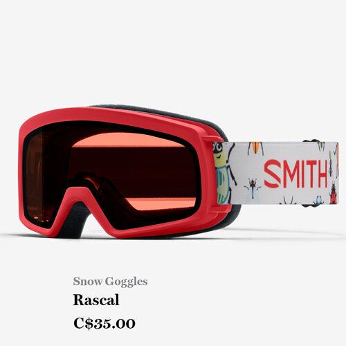Snow goggles - Rascal - C$35.00