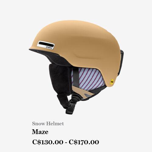 Snow Helmet - Maze - C$130.00 - C$170.00