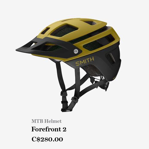 MTB Helmet - Forefront 2 - C$280.00