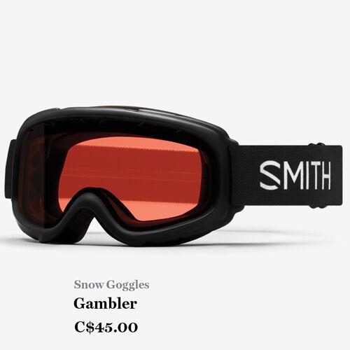 Snow Goggles - Gambler - C$45.00