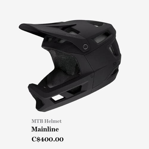 MTB Helmet - Mainline - C$400.00