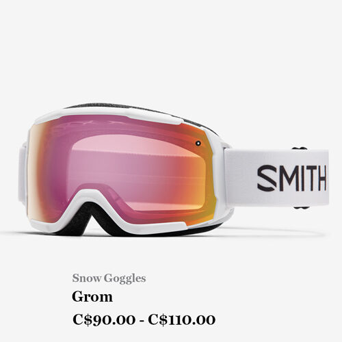 Snow Goggles - Grom - C$90.00 - C$110.00