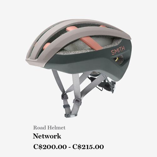 Road Helmet - Network - C$200.00 - C$215.00
