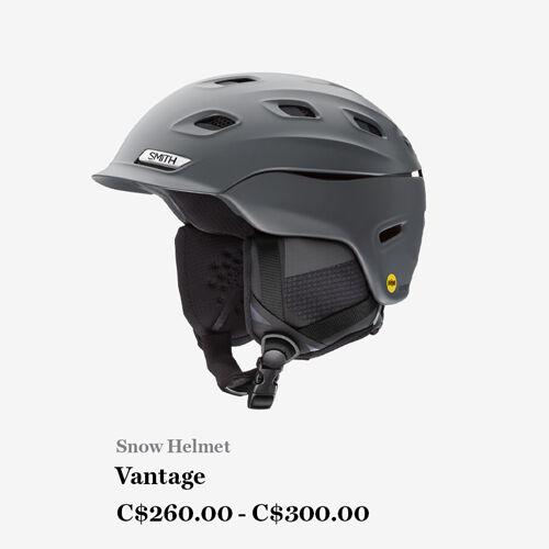 Snow Helmet, Vantage, C$260.00 - C$300.00