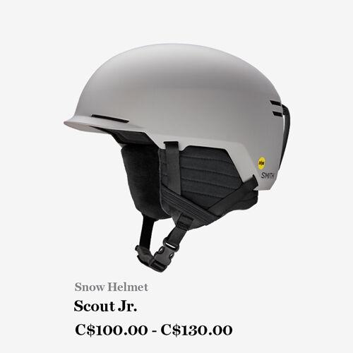 Smith Optics Scout Jr Helmet - C$100.000 - C$130.00