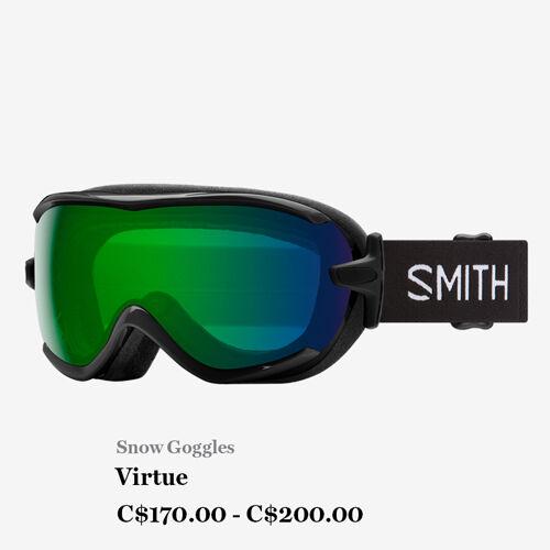 Snow Goggles - Virtue - C$170.00 - C$200.00