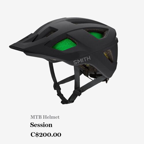 MTB Helmet - Session - C$300.00