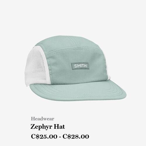 Headwear - Zephyr Hat - C$25 - C$28