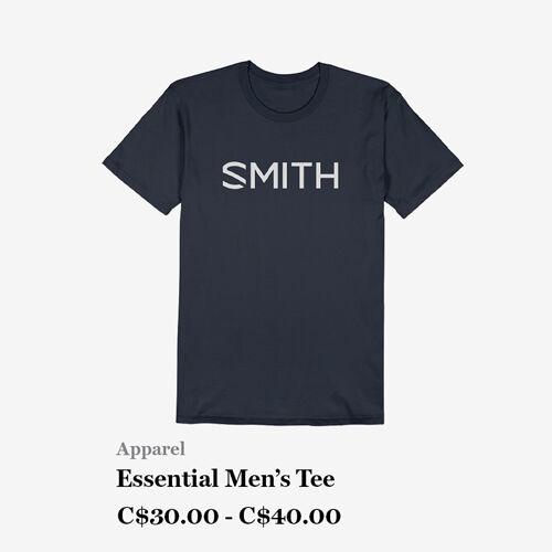 Men's Apparel - Essential Men's T-shirt - C$30 - C$40
