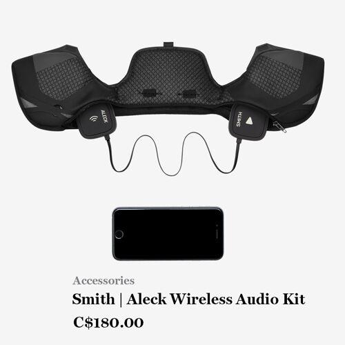 Smith   Aleck Wireless Audio Kit C$180.00
