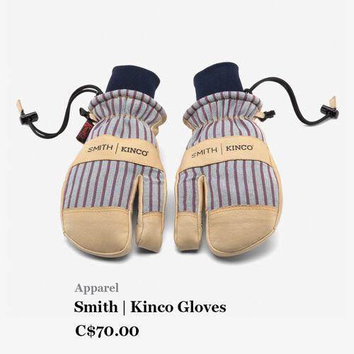Apparel - Smith   Kinco Gloves - C$70