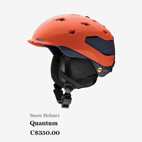 Snow Helmet - Quantum - C$350.00