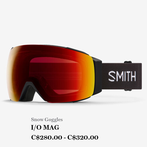 Snow Goggles, I/O MAG, C$280.00 - C$320.00