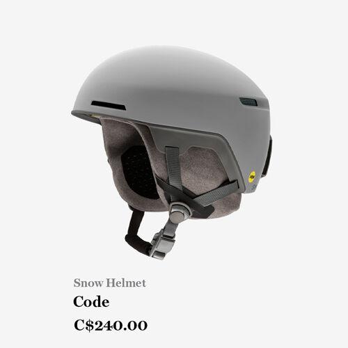 Snow Helmet - Code C$240.00