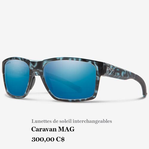 Lunettes de soleil interchangeables - Caravan MAG - 300,00 C$