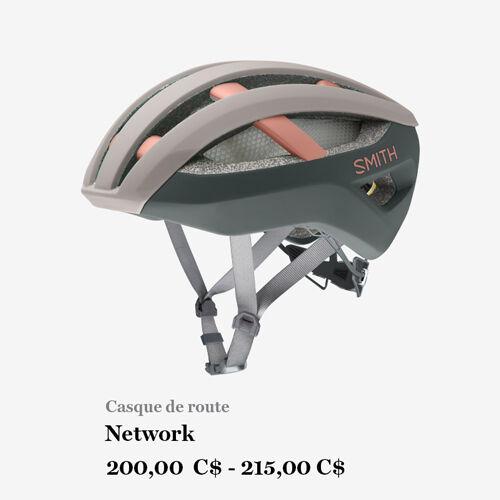 Casque de route - Network - 200,00 C$ - 215,00 C$