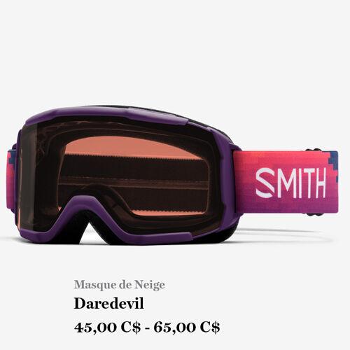Masque de Neige - Daredevil - 45,00 C$ - 65,00 C$