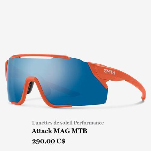 Lunettes de soleil Performance - Attack MAG MTB - 290,00 C$