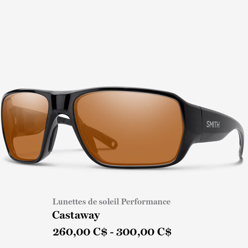 Lunettes de soleil Performance - Castaway - 260,00 C$ - 300,00 C$