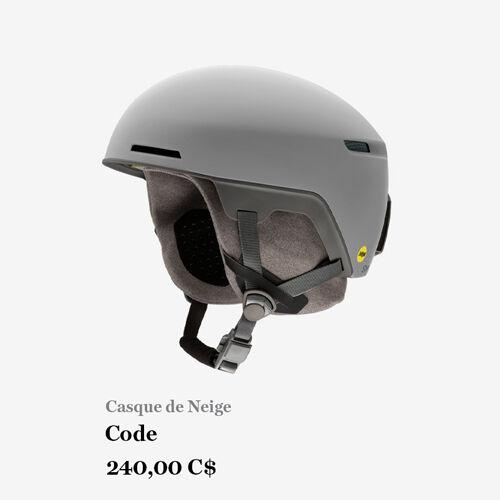 Casque de Neige, Code, 240,00 C$