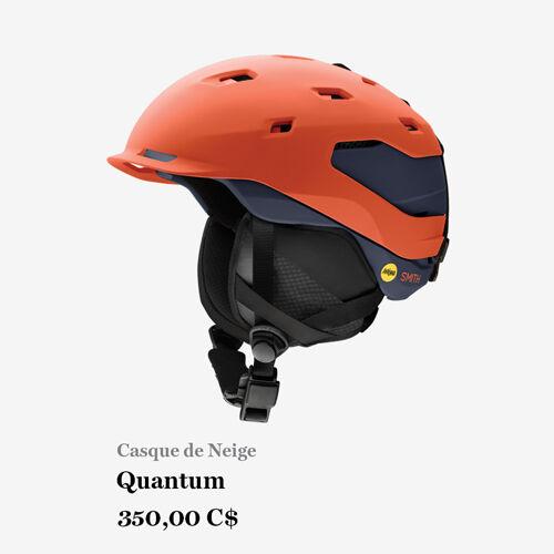 Casque de Neige - Quantum - 350,00 C$