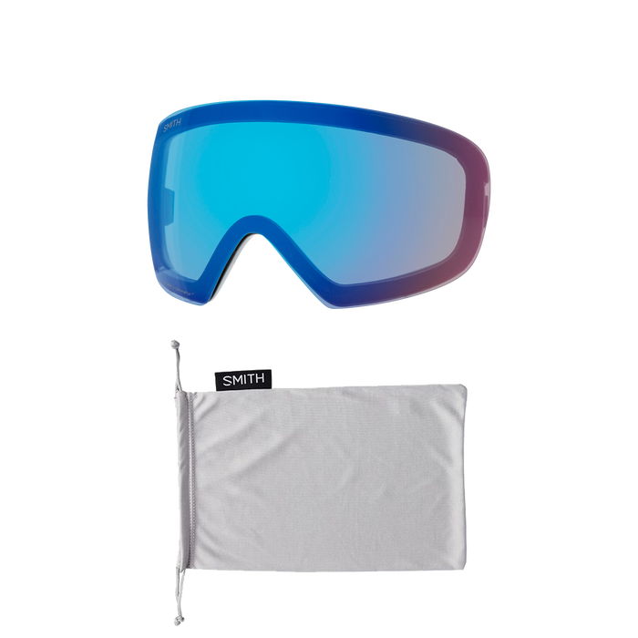 I/O MAG S Rock Salt - Tannin ChromaPop Sun Platinum Mirror