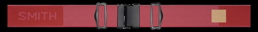 I/O MAG XL Low Bridge Fit, Clay Red, strap