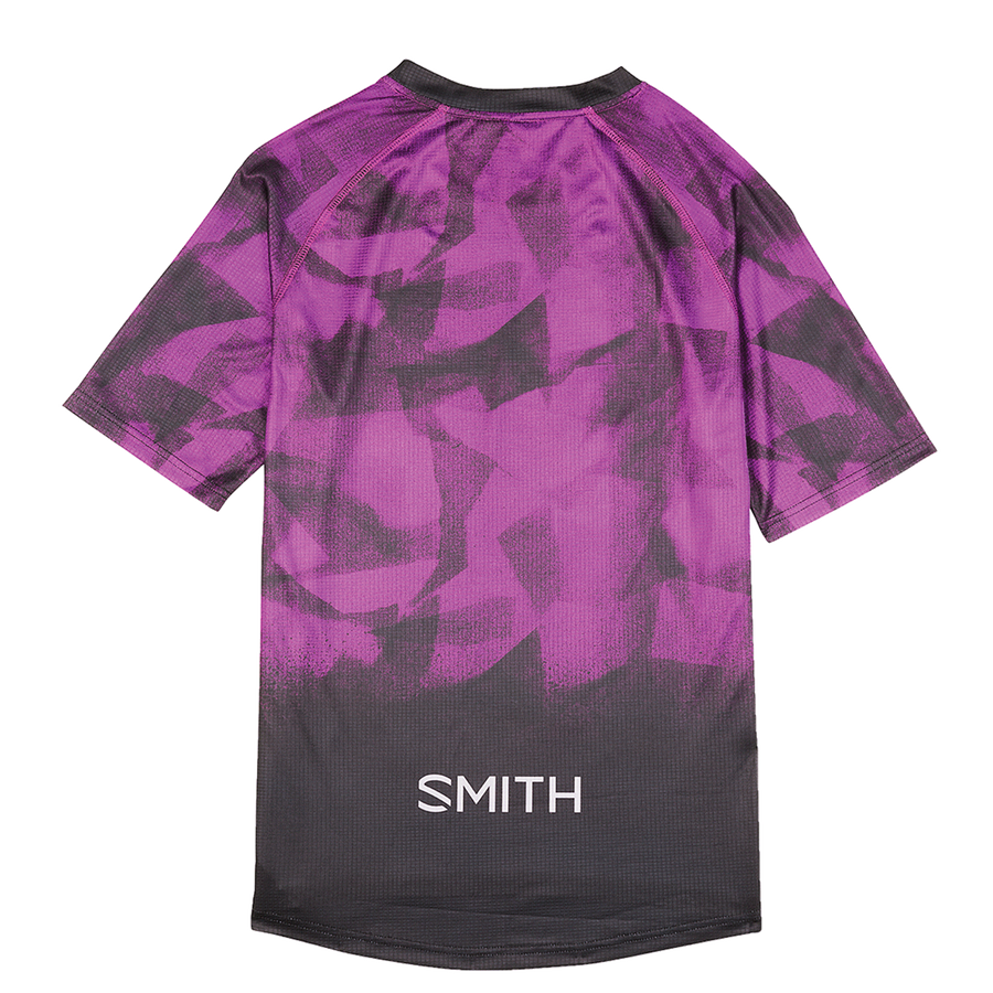 Women's MTB Jersey large Violet Overspray