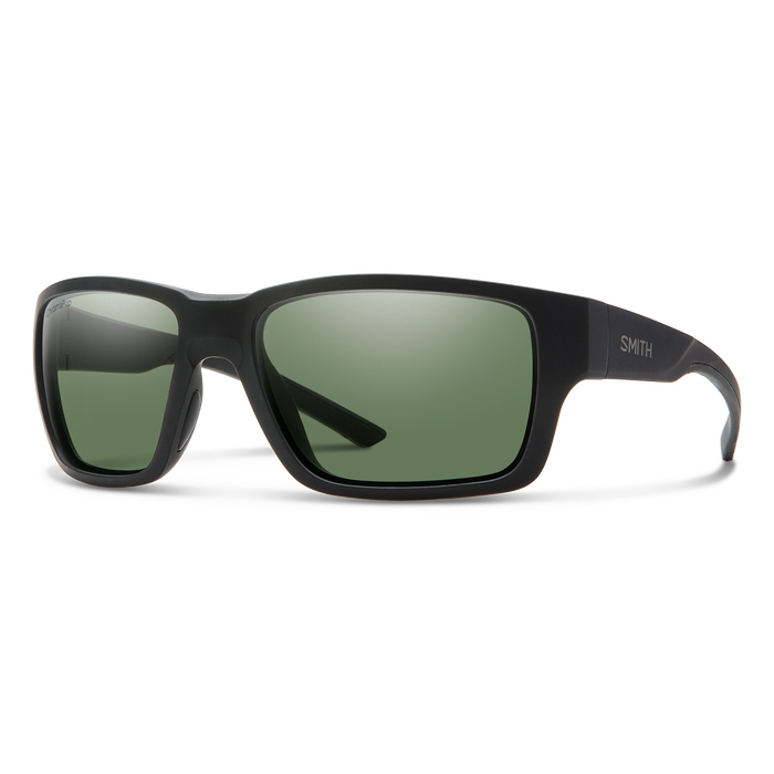 Outback Elite Matte Black ChromaPop+ Elite Polarized Gray Green