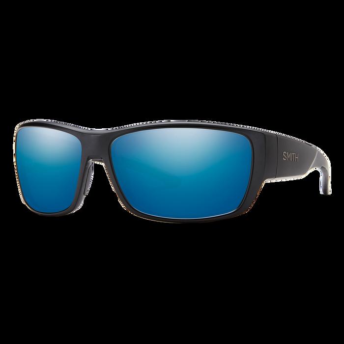 Forge Matte Black Blue Mirror