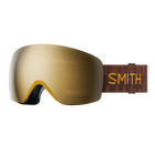 Skyline Asia Fit Amber Textile ChromaPop Sun Black Gold Mirror