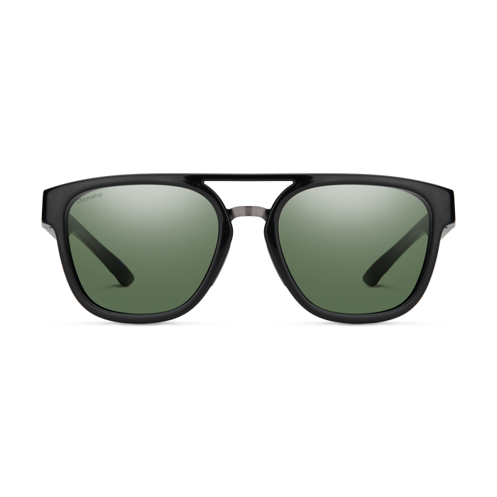 Agency Black ChromaPop Polarized Gray Green