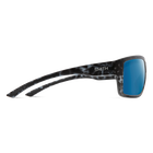 Highwater Matte Black Ice Tort ChromaPop+ Polarized Blue Mirror