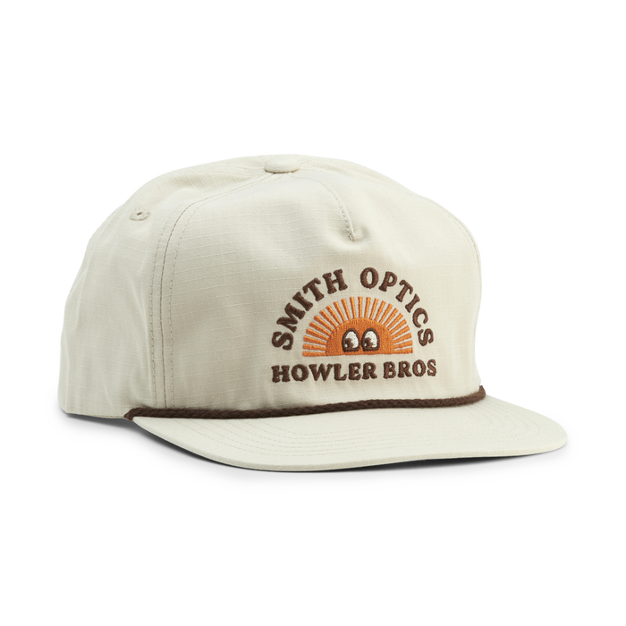 Smith x Howler Brothers Unstructured Snapback, Howler Brothers Tan, hi-res