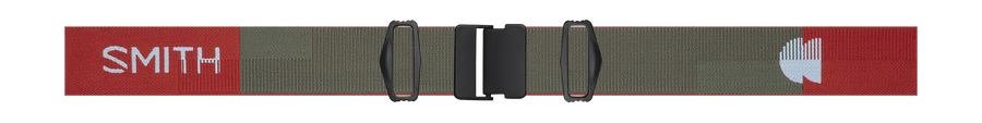 I/O MAG Low Bridge Fit, Clay Red Landscape, strap