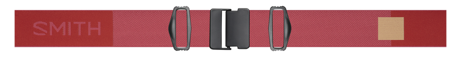 Squad MAG Low Bridge Fit, Clay Red, strap