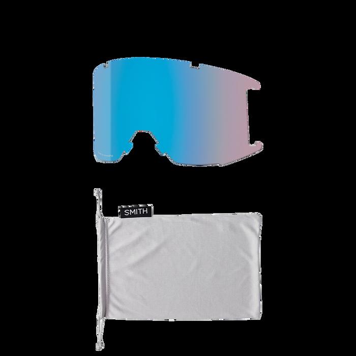 Squad XL Rock Salt - Tannin ChromaPop Sun Platinum Mirror