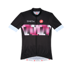 Women's Cycling Jersey berry-PowderBlue primary image