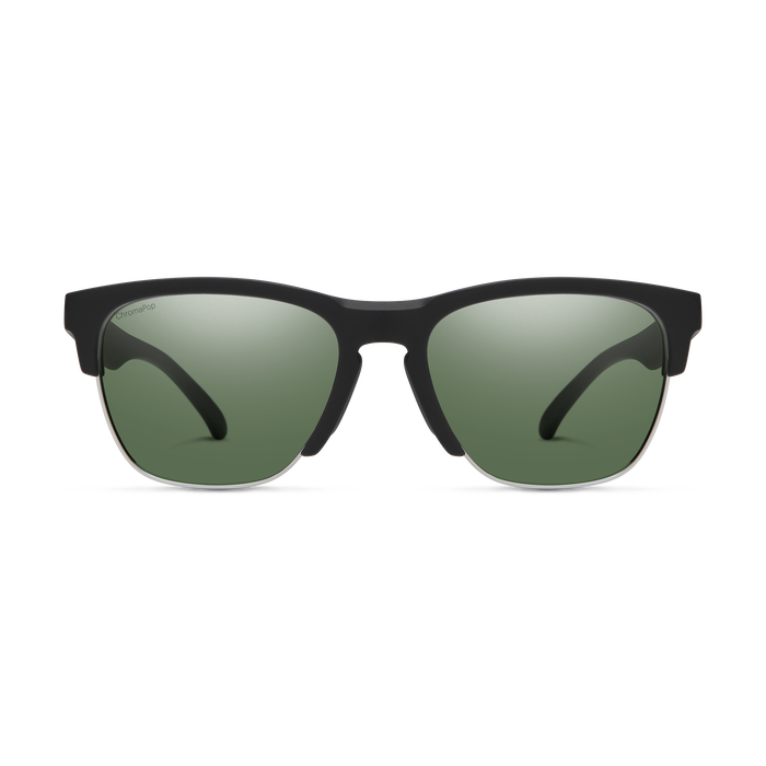 Haywire Matte Black ChromaPop Polarized Gray Green