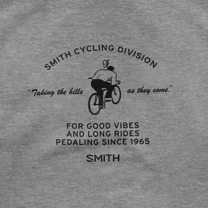 Cycling Division Hoodie, Heather Gray, hi-res
